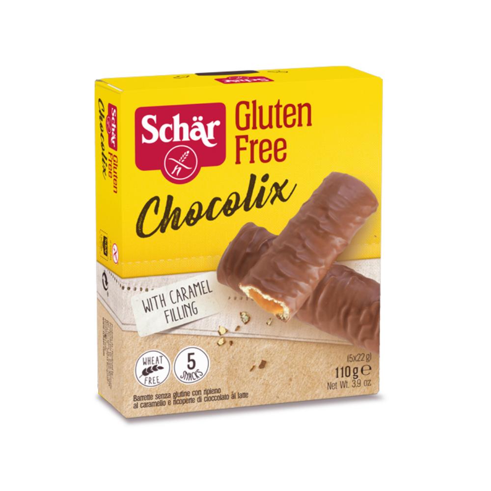 Chocolix - Karamellával töltött csokoládés keksz