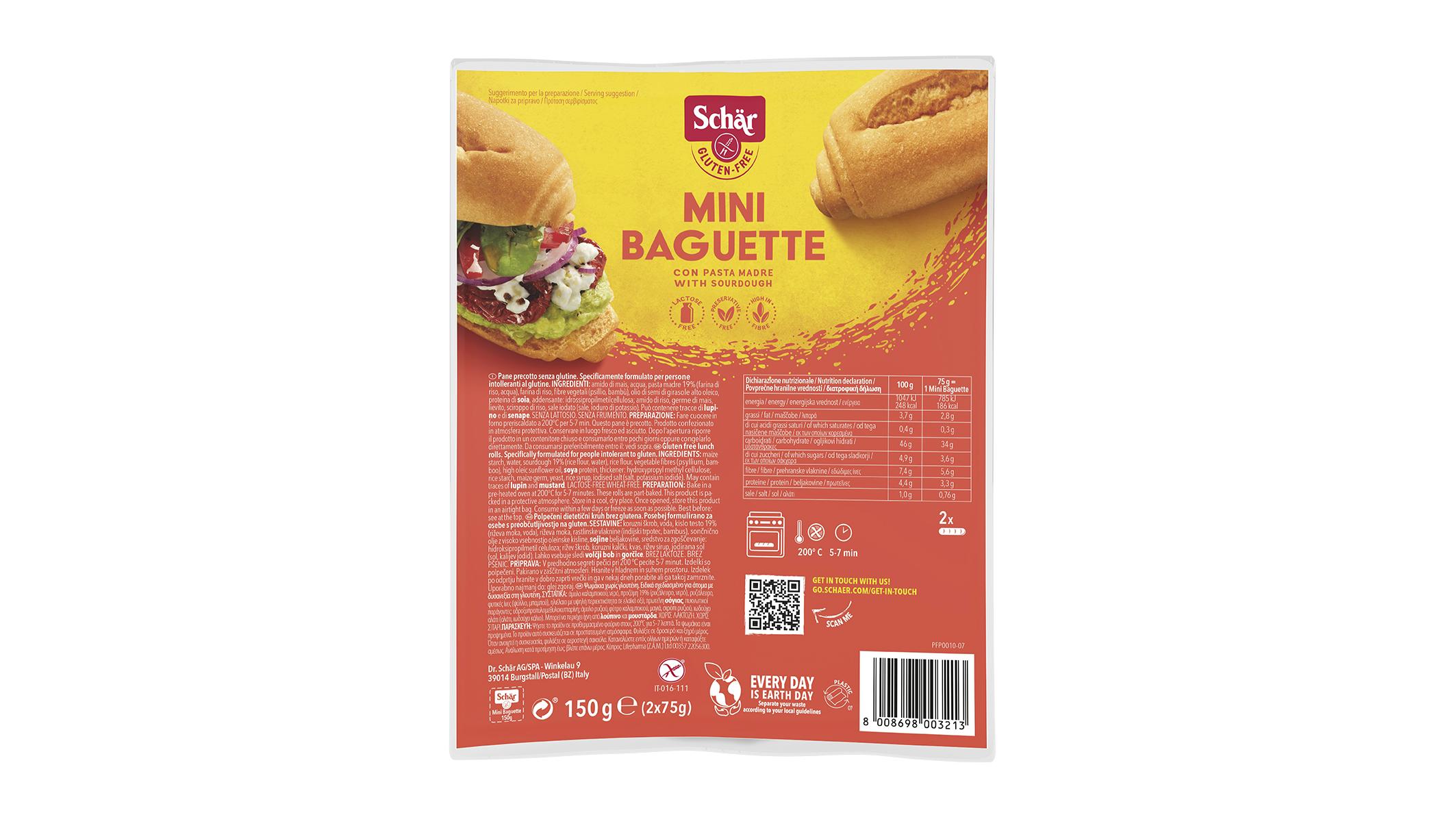 Mini Baguette - Mini bagett