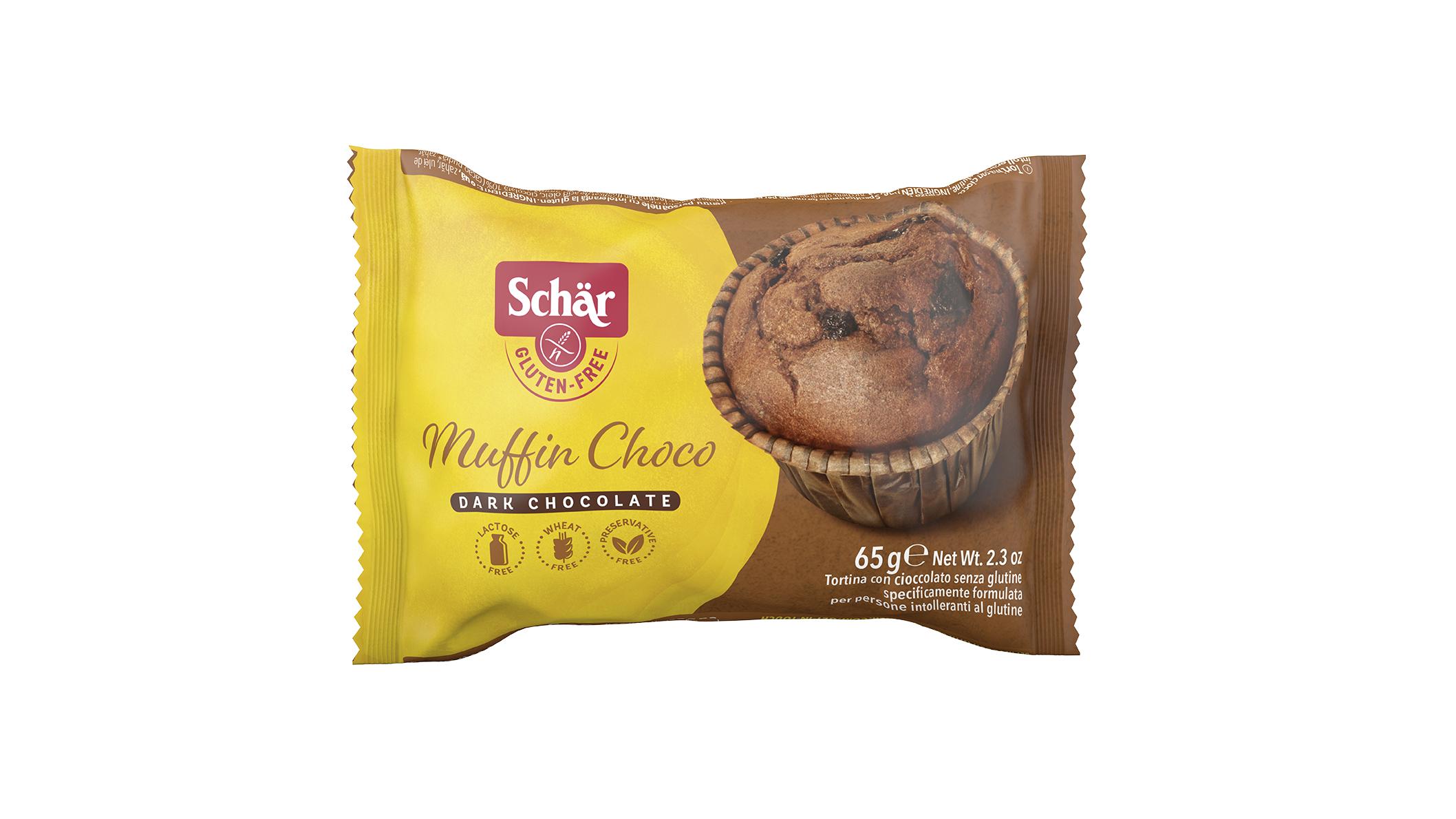 Muffin Choco Single - Csokoládés muffin
