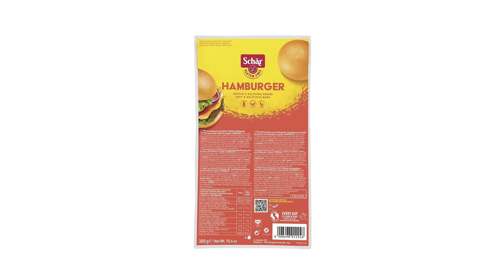 Hamburger - Hamburgerzsemle