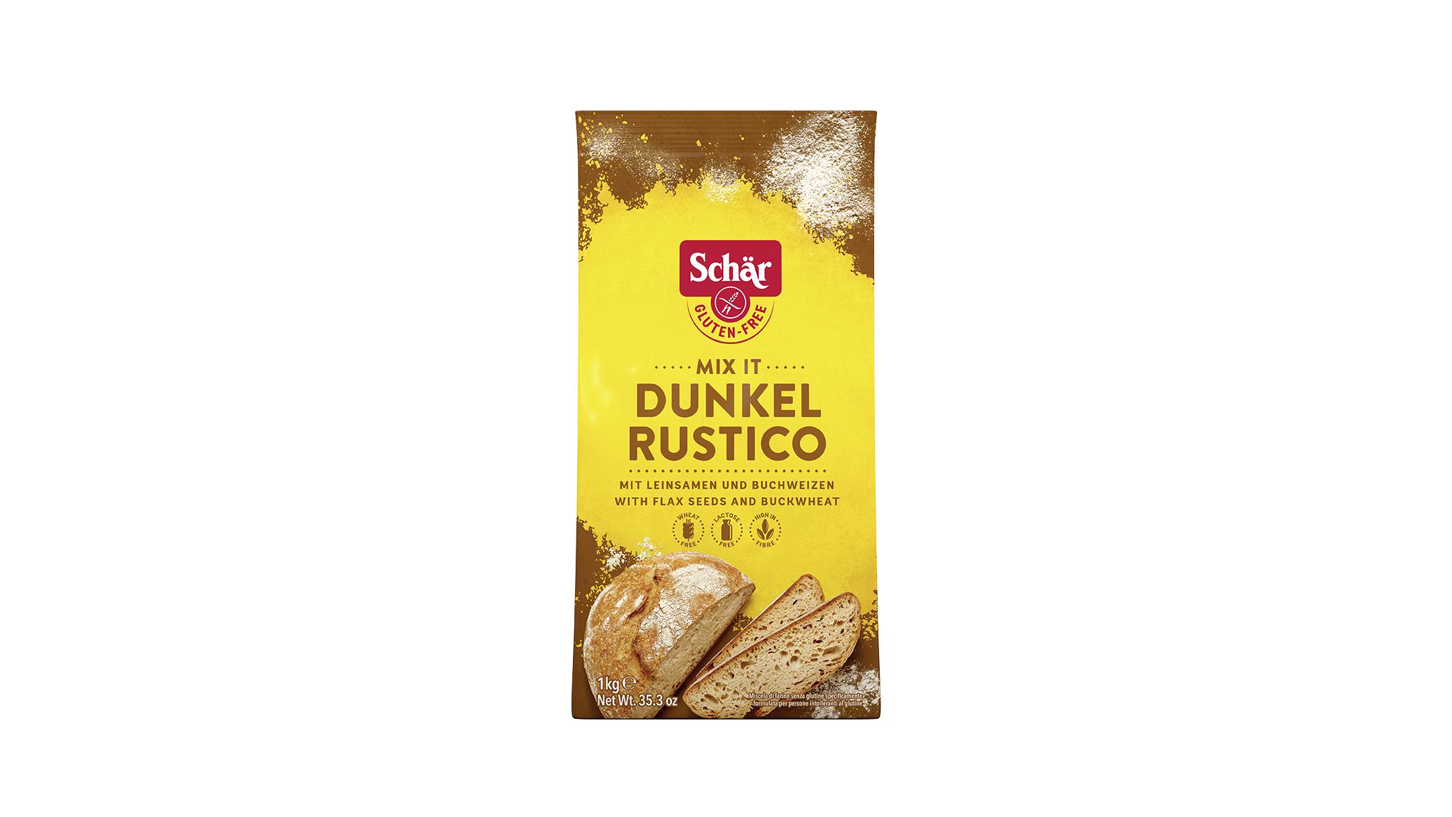 Mix It Dunkel - Mix It Rustico - Barna kenyérliszt