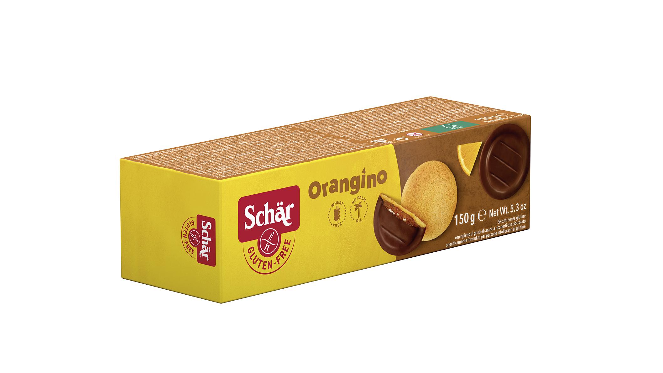 Orangino - Narancsos piskótatallér
