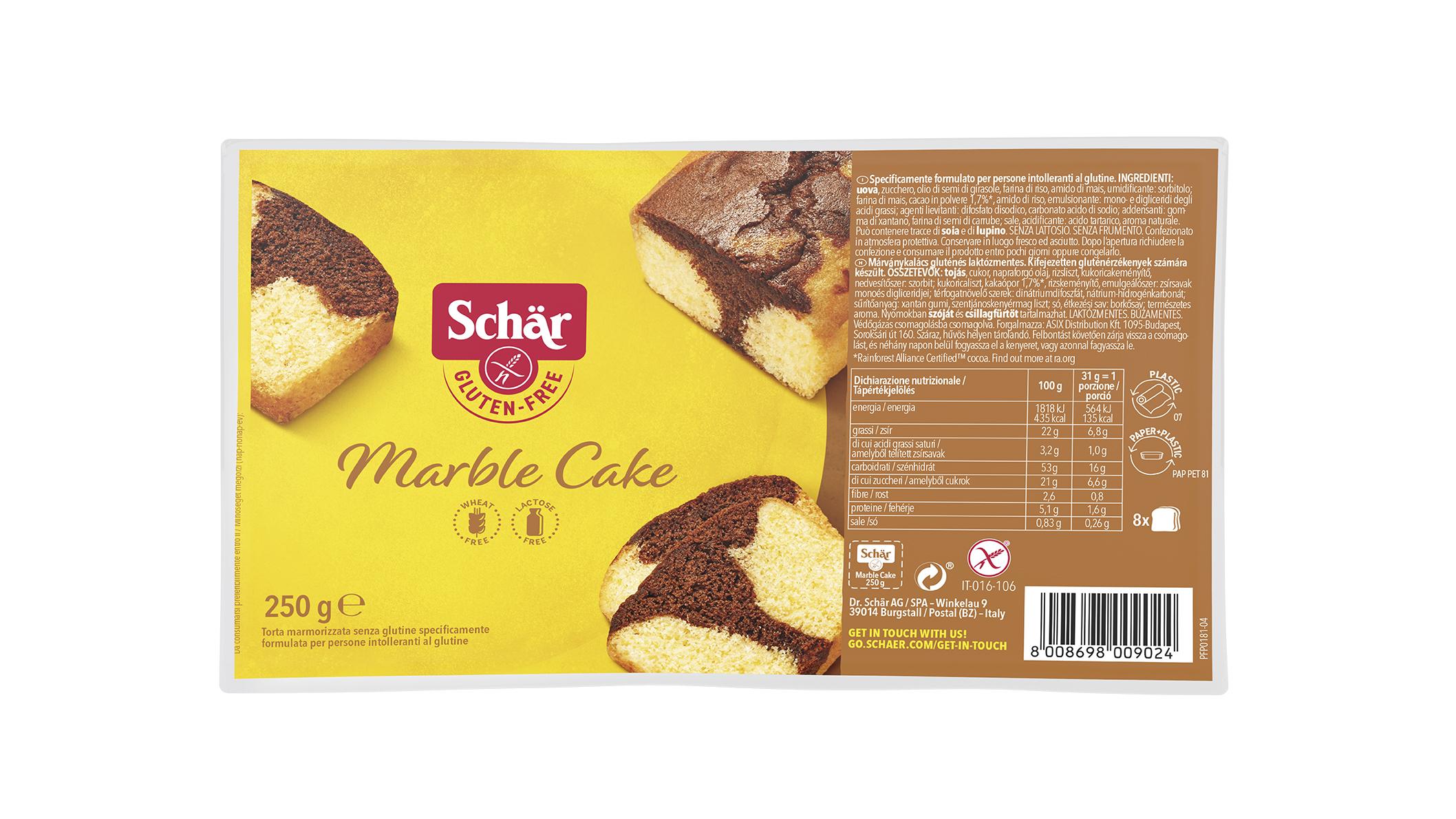 Marble Cake - Márványkalács